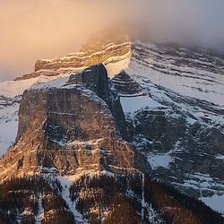 Sunrise in Canmore Alberta