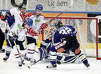 Ishockey, 22. november 2007 , GET-ligan , Sparta - Lillehammer, Juraj Durco Sparta , Stefan Sjødin Lillehammer , Foto: Thomas Andersen , Digitalsport
