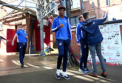 Alexis Andre Junior of Bristol Rovers arrives at The Northern Commercials Stadium (Valley Parade), home of Bradford City  - Mandatory by-line: Robbie Stephenson/JMP - 02/09/2017 - FOOTBALL - Northern Commercials Stadium - Bradford, England - Bradford City v Bristol Rovers - Sky Bet League One
