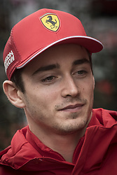 February 20, 2019 - Montmelo, Barcelona, Spain - Charles Leclerc of Ferrari F1 Team  in the Paddock area  at the Circuit de Catalunya in Montmelo (Barcelona province) during the pre-season testing session. (Credit Image: © Jordi Boixareu/ZUMA Wire)