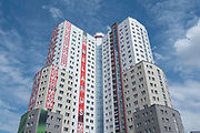 The athletes village for the 2nd European Games on the 20th June 2019 in Minsk in Belarus. The 2nd European Games is held in Minsk, Belarus from the 21st June to the 30th June.