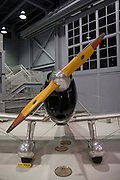 Wisconsin, USA, Oshkosh, Air Venture Experimental Aviation Association (EAA) Museum, A WWII era air force trainer, November 2006