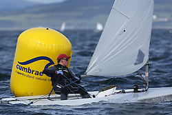 Day 4 NeilPryde Laser National Championships 2014 held at Largs Sailing Club, Scotland from the 10th-17th August.<br /> <br /> 206488, Jack ROCKETT<br /> <br /> Image Credit Marc Turner