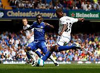 Photo: Richard Lane/Sportsbeat Images. <br />Chelsea v Birmingham. Barclay's Premiership. 12/08/2007. <br />Birmingham's Olivier Kapo scores his sides second goal.