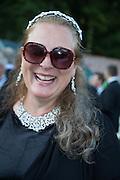 PRINCESS KATARINA DE SILVA, Richard Taylor's 69th birthday party.  Whithurst Park. West Sussex.  3 August 2013
