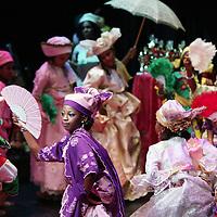Nederland, Amsterdam , 22 november 2009.. Little Miss Kwakoe 2009 Jhomaryel Prade tijdens de bekendmaking van de winnares 2009 in Anton de Komplein 240 Amsterdam zuid-oost..Foto:Jean-Pierre Jans