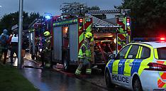 Lightning strike, Prestonpans, 10 August 2019