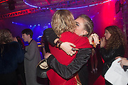 KYLE DE VOLLE; CARA DELEVIGNE, Club DKNY in celebration of DKNYARTWORKS hosted by Cara Delevingne  at The Fire Station, Lambeth High St. London. 12 June 2013