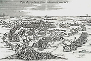 Count Louis of Nassau Downs on May 23, 1568, at Heiligerlee with 3000 foot soldiers and 300 cavalry, the Spanish army under the Earl of Aremberg, Adolf of Nassau killed.