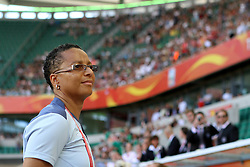 27-06-2011 VOETBAL: FIFA WOMENS WORLDCUP 2011 MEXICO - ENGLAND: WOLFSBURG<br /> Trainerin Hope Powell (ENG)<br /> ***NETHERLANDS ONLY***<br /> ©2011-FRH- NPH/Hessland