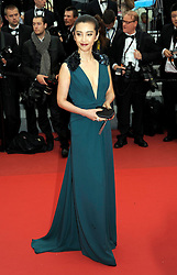 Li BingBing at the the premiere of the French film , You Ain't Seen Nothin' Yet  at the Cannes Film Festival on Monday 21st May 2012. Photo by: Stephen Lock / i-Images
