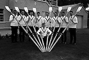 Members of the Garda Rowing Club resplendent in their Gaeltarra Eireann sweaters. .30.09.1967