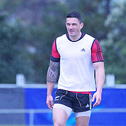 Sonny Bill Williams during All Black's training at Smart Stadium, Auckland,  in preparation for the Rugby World Cup Final against France at the IRB Rugby World Cup tournament, Auckland, New Zealand. 18th October 2011. Photo Tim Clayton...