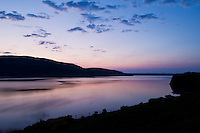 Evening light reflected on the Kyle of Durness, Scotland