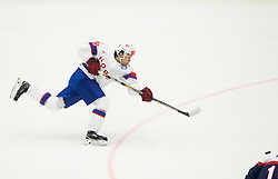 Mattias Norstebo of Norway during Ice Hockey match between Slovakia and Norway at Day 6 in Group B of 2015 IIHF World Championship, on May 6, 2015 in CEZ Arena, Ostrava, Czech Republic. Photo by Vid Ponikvar / Sportida