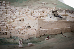 17 December 2016, Cairo, Egypt: In a building adjacent to the Resurrection Church at the Anaphora Institute, is a miniature model of Bethlehem at the time of Jesus. The Anaphora Institute is a Coptic Orthodox retreat and educational centre located north-west of Cairo.