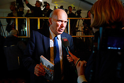 © Licensed to London News Pictures. 17/05/2017. London, UK. Former Business Secretary VINCE CABLE is at the Liberal Democrat manifesto launch for the 2017 general election in east London on Wednesday, 17 May 2017. Photo credit: Tolga Akmen/LNP