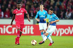 Francis Coquelin of Arsenal passes the ball - Mandatory by-line: Robbie Stephenson/JMP - 23/11/2017 - FOOTBALL - RheinEnergieSTADION - Cologne,  - Cologne v Arsenal - UEFA Europa League Group H
