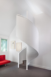 4716 Falstone Ave Chevy Chase Maryland house  Architect builder Anthony Wilder Stair stairway