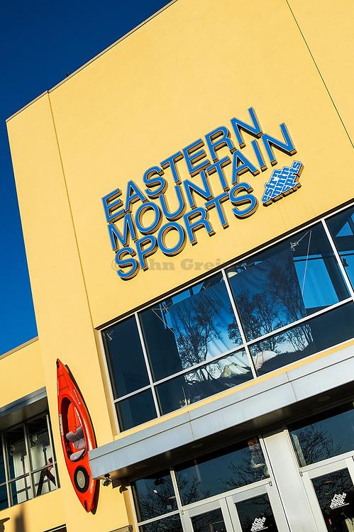Eastern Mountain Sports store.