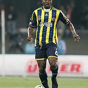 Fenerbahce's Joseph Michael Yobo during their Turkish Superleague SuperFinal Derby match Besiktas between Fenerbahce at the Inonu Stadium at Dolmabahce in Istanbul Turkey on Thursday, 03 May 2012. Photo by TURKPIX