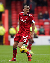 Aberdeen's Lewis Ferguson during the cinch Premiership match at Pittodrie Stadium, Aberdeen. Picture date: Sunday October 3, 2021.