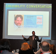 """Chris Brogan, author of the New York Times best seller """"Trust Agents: Using Social Media for Business Success -- the Rise of the Trust Agent"""" was the guest speak at  The Credibility Conversation at Lorain County Community College on Wednesday, January 13, 2010.. The Credibility Conversation is a 3-part speakers series focused on trust, authenticity, transparency, relationships, engagement, community and social media. The event is sponsored by Emerge Inc., and LorainCounty.com."""
