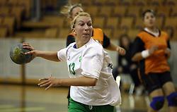 Spela Kogovsek of Olimpija at  handball game between women team RK Olimpija vs ZRK Brezice at 1st round of National Championship, on September 13, 2008, in Arena Tivoli, Ljubljana, Slovenija. Olimpija won 41:17. (Photo by Vid Ponikvar / Sportal Images)