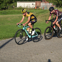 Rick Pluimers (Netherlands / Team Jumbo Visma Academy)<br /> 21-08-2020: Wielrennen: NK U23: Drijber