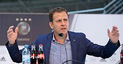 08.06.2015, Mercedes Benz Zenter, Koeln, GER, Nationalmannschaft, Pressekonferenz, im Bild Sportlicher Leiter Oliver Bierhoff // during a press conference of the german national football team at the Mercedes Benz Zenter in Koeln, Germany on 2015/06/08. EXPA Pictures © 2015, PhotoCredit: EXPA/ Eibner-Pressefoto/ Schüler<br /> <br /> *****ATTENTION - OUT of GER*****