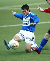 FOTBALL 1. DIVISJON HERRE 17. JANUAR 2004 VALLHALL SKEID vs KONGSVINGER (KIL) THAN TRAN KIL<br />FOTOGRAF: KURT PEDERSEN DIGITALSPORT