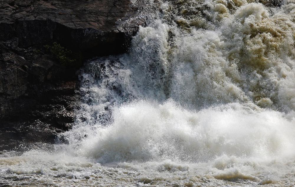 Norway - Detail of Pikefoss waterfall