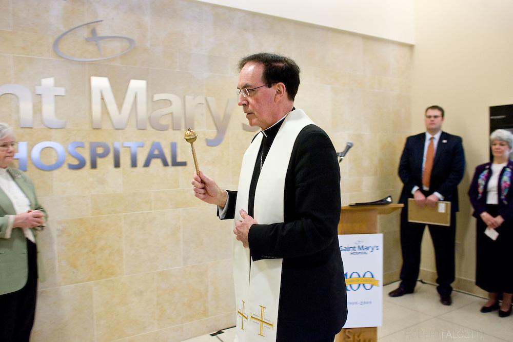 MARCH 12, 2009: Saint Mary's Hospital 100th Anniversary Celebration. .