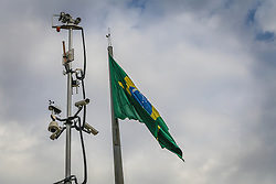 Plataforma de Observação Elevada da Segurança Pública na 39º Expointer - Exposição Internacional de Animais, Máquinas, Implementos e Produtos Agropecuários. A maior feira a céu aberto da América Latina,  promovida pela Secretaria de Agricultura e Pecuária do Governo do Rio Grande do Sul, ocorre no Parque de Exposições Assis Brasil, entre 27 de agosto e 04 de setembro de 2016 e reúne as últimas novidades da tecnologia agropecuária e agroindustrial. FOTO: Alessandra Bruny / Agência Preview
