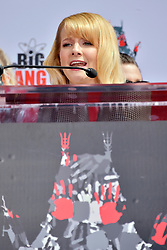 May 1, 2019 - Los Angeles, Kalifornien, USA - Melissa Rauch bei der Handprints Ceremony am TCL Chinese Theatre Hollywood. Los Angeles, 01.05.2019 (Credit Image: © Future-Image via ZUMA Press)