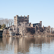 Bannerman's Castle is located on Pollepel Island, also called Bannerman's Island, on the Hudson River. The castle is an abandoned military surplus warehouse or armory.