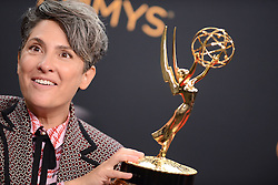Jill Soloway poses in the press room during the 68th Annual Primetime Emmy Awards at Microsoft Theater on September 18, 2016 in Los Angeles, CA, USA. Photo by Lionel Hahn/ABACAPRESS.COM