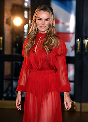 Judge Amanda Holden attending the Britain's Got Talent auditions at the Blackpool Opera House