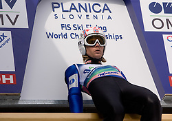 ROMOEREN Bjoern Einar, Hosle IL, NOR  competes during Flying Hill Team Trial Round at 4th day of FIS Ski Flying World Championships Planica 2010, on March 21, 2010, Planica, Slovenia.  (Photo by Vid Ponikvar / Sportida)