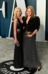 Chelsea Handler and Mary McCormack attending the Vanity Fair Oscar Party held at the Wallis Annenberg Center for the Performing Arts in Beverly Hills, Los Angeles, California, USA.