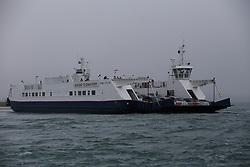 UK ENGLAND POOLE 22FEB19 - A cable ferry connects Shell Bay and Sandbanks across Poole Bay the Dorest coast. <br /> <br /> Photo by Jiri Rezac / Greenpeace<br /> <br /> <br /> <br /> © Jiri Rezac 2019