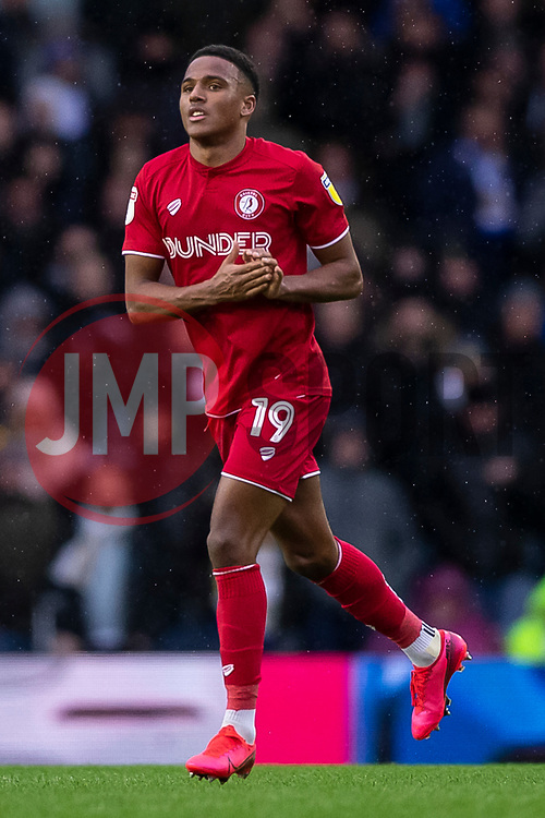 Niclas Eliasson of Bristol City applauds the away fans as he is substituted - Mandatory by-line: Daniel Chesterton/JMP - 15/02/2020 - FOOTBALL - Elland Road - Leeds, England - Leeds United v Bristol City - Sky Bet Championship