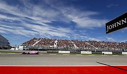 October 22, 2018 - Austin, United States - Motorsports: FIA Formula One World Championship; 2018; Grand Prix; United States, FORMULA 1 PIRELLI 2018 UNITED S GRAND PRIX , Circuit of The Americas#11 Sergio Perez (MEX, Sahara Force India F1 Team) (Credit Image: © Hoch Zwei via ZUMA Wire)