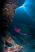 Diving and traditional dancing in Yap, Micronesia