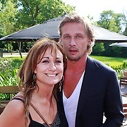 NLD/Amsterdam/20110608 - Boekpresentatie Bastiaan Ragas, Laura Vlasblom en partner Michel Veenman
