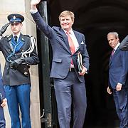 NLD/Amsterdam/20180424 - koning en koningin bieden Corps Diplomatique diner aan, Prinses Margriet en Pieter van Vollenhoven