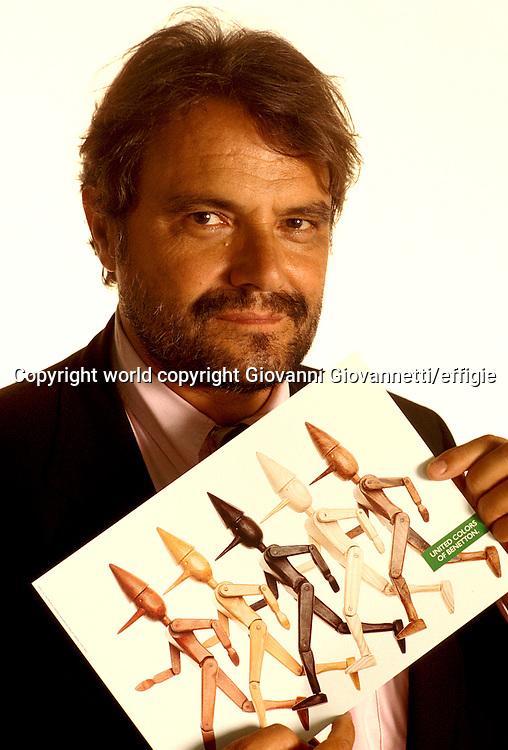 Oliviero Toscani<br />world copyright Giovanni Giovannetti/effigie / Writer Pictures<br /> <br /> NO ITALY, NO AGENCY SALES / Writer Pictures<br /> <br /> NO ITALY, NO AGENCY SALES