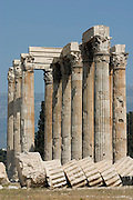 The Temple of the Olympian Zeus (Olympeion).