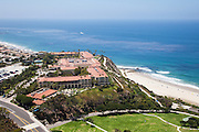 Aerial Stock Photo of the Ritz Carlton Laguna Niguel with Ocean View
