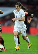 Karen Carney of England Women<br /> - Womens International Football - England vs Germany - Wembley Stadium - London, England - 23rdNovember 2014  - Picture Robin Parker/Sportimage